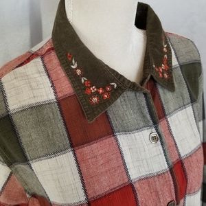 Vintage 70s Bobbie Brooks Patchwork Shirt